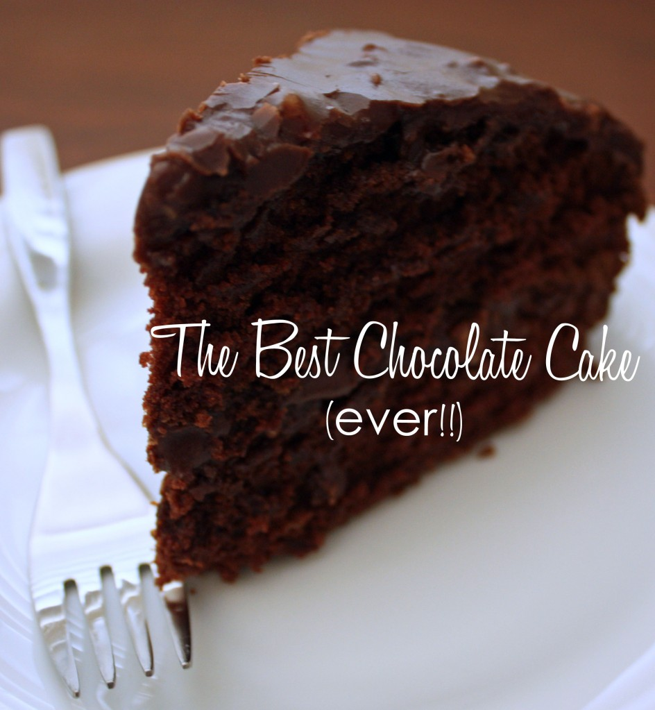 easy moist chocolate cake