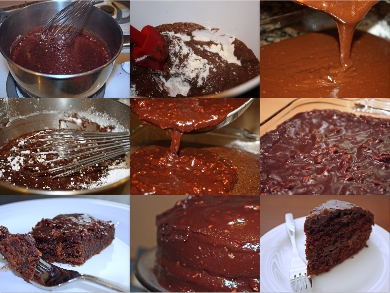Step By Step Chocolate Cake