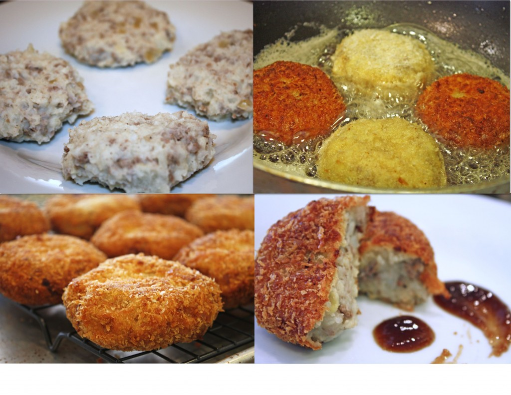 Japanese Croquettes step by step