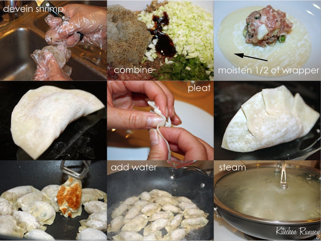 pot sticker step by step