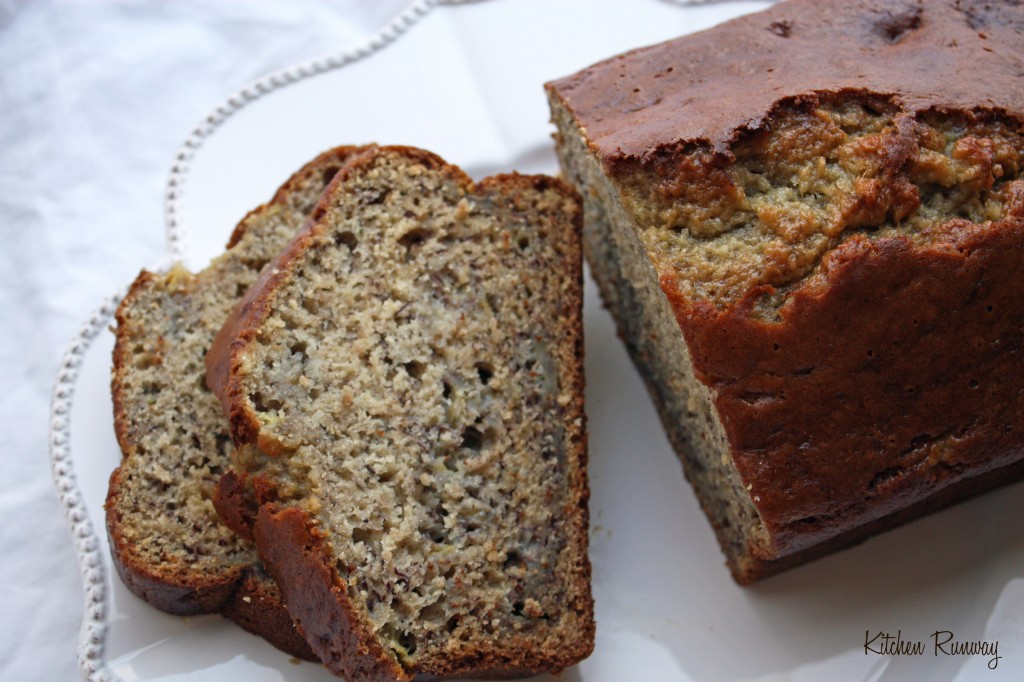 easy healthy banana bread