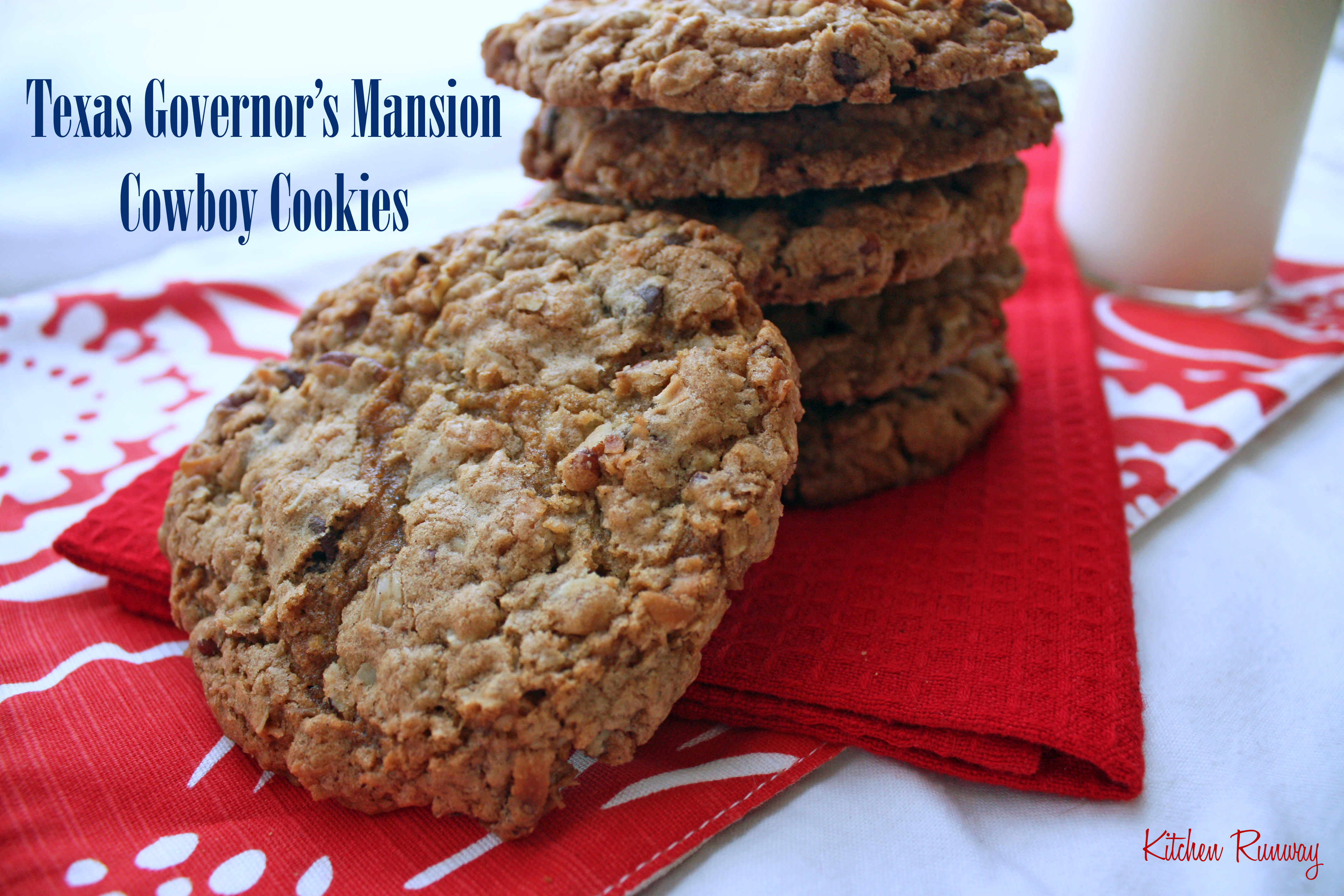 texas governor's mansion cowboy cookies