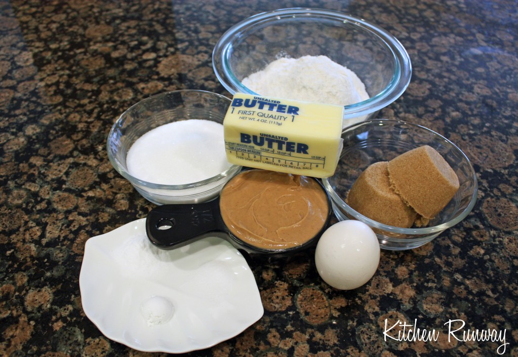 peanut butter cookie brownies ingredients