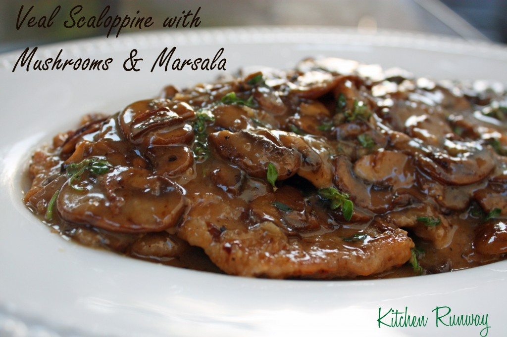 veal scaloppine with mushrooms and marsala