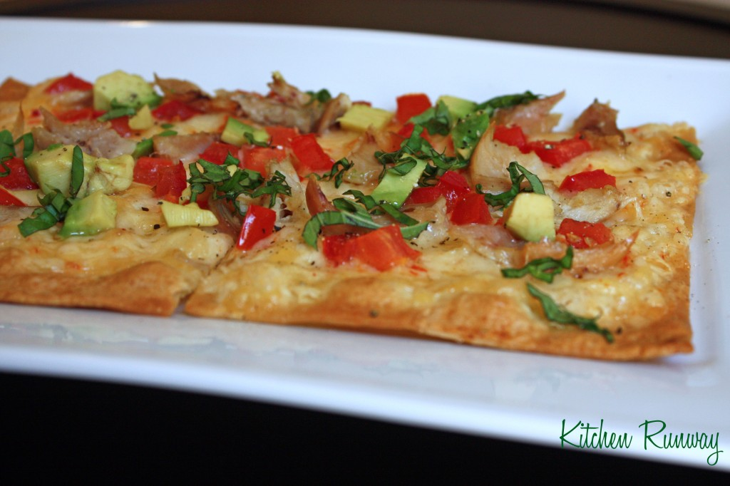 californian flat bread pizza
