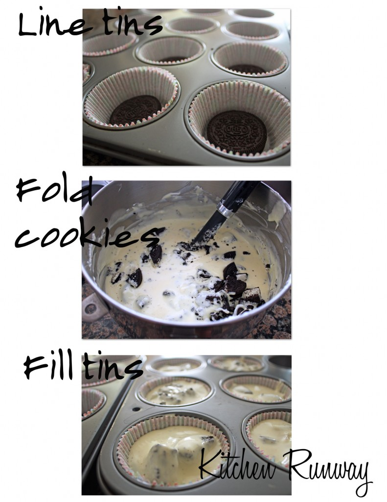 cookies and cream cheesecake step by step