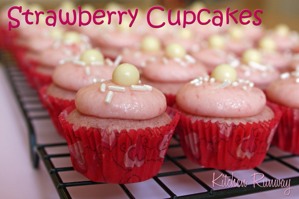 sprinkle's strawberry cupcakes