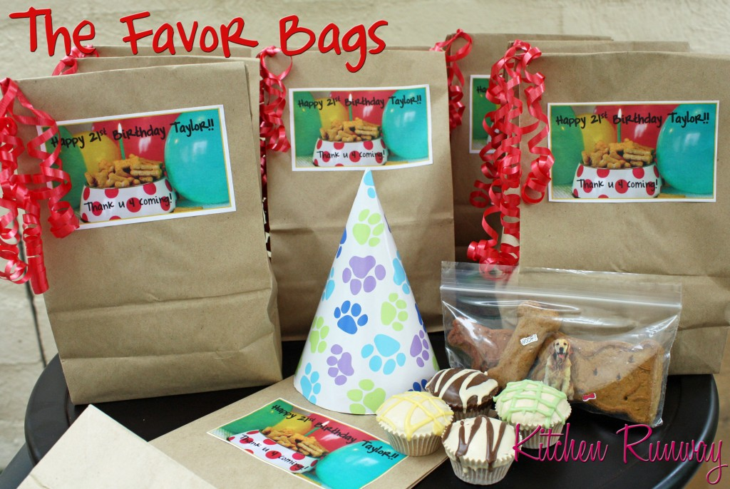 doggie favor bags