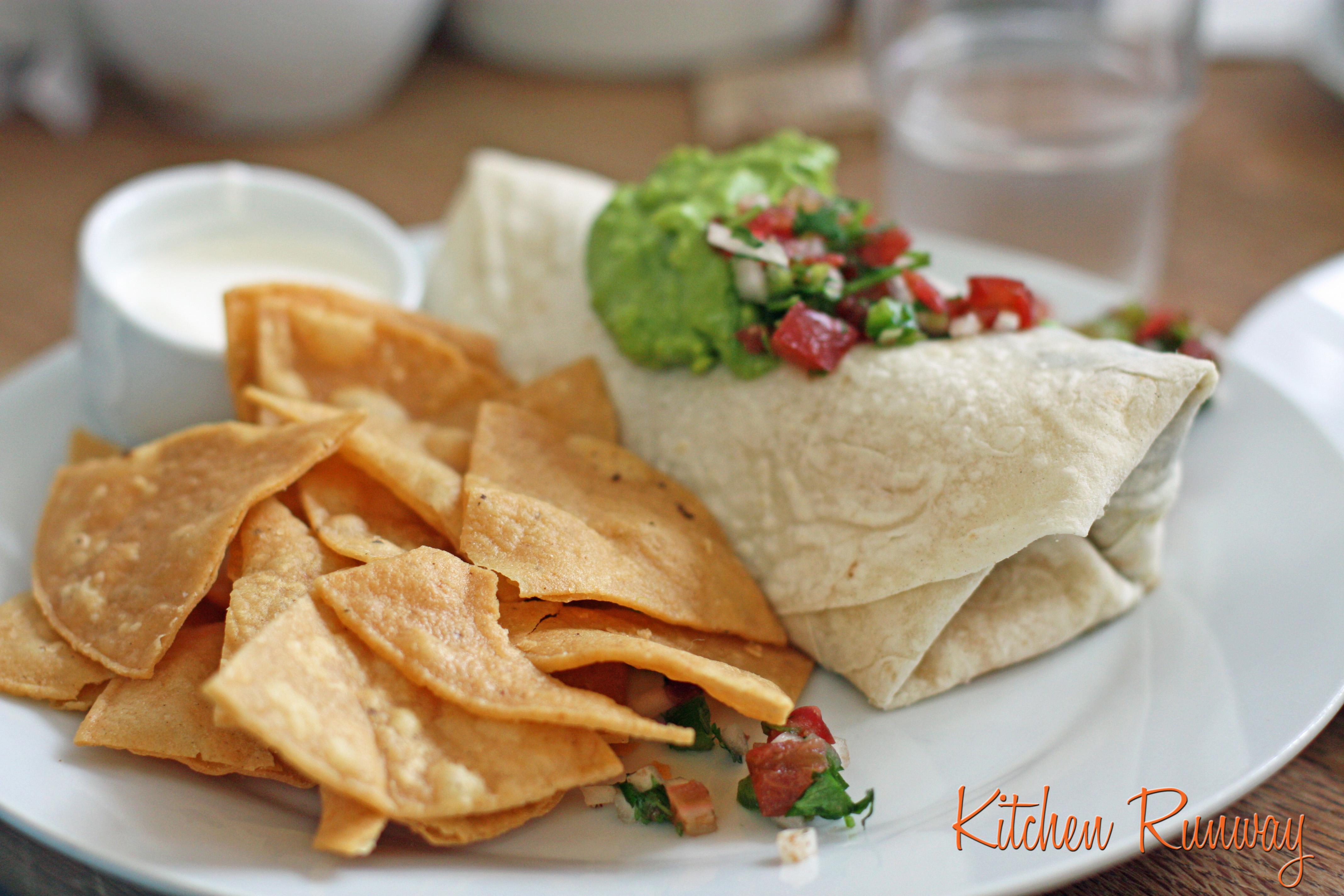 huckleberry breakfast burrito