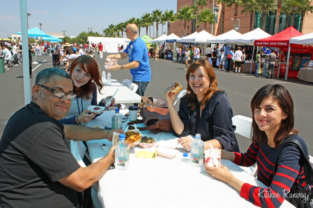 family at oc foodie fest
