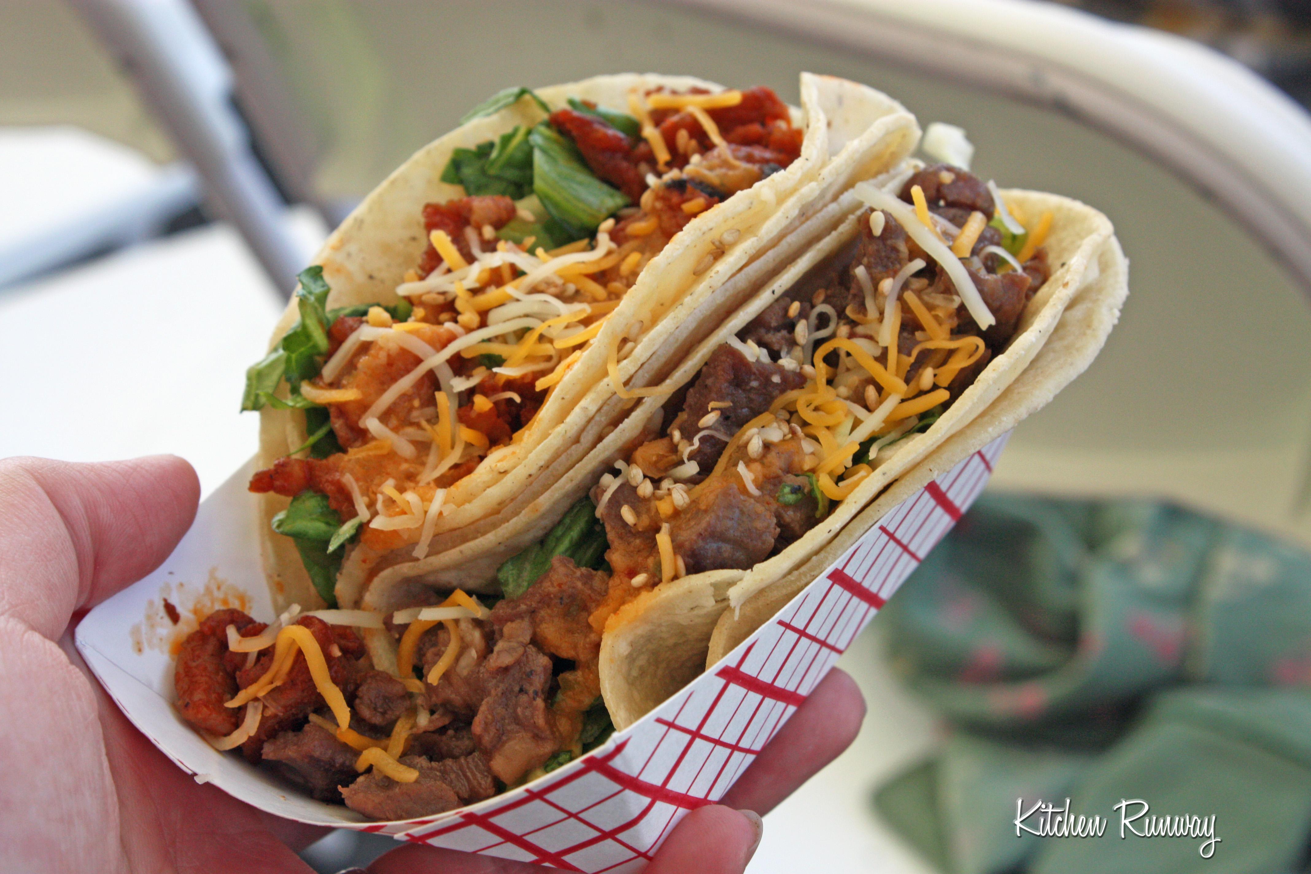 pork & beef taco calbi truck