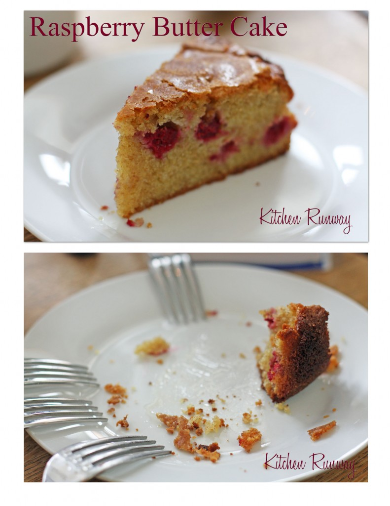 raspberry butter cake
