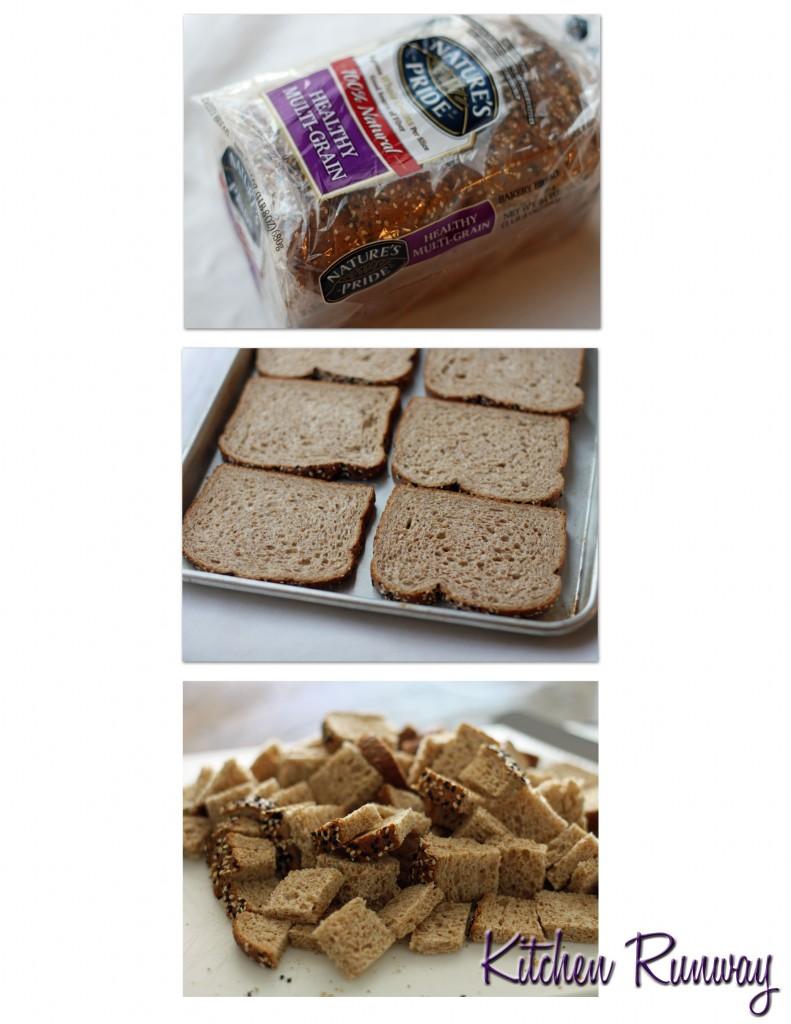 nature's pride bread collage