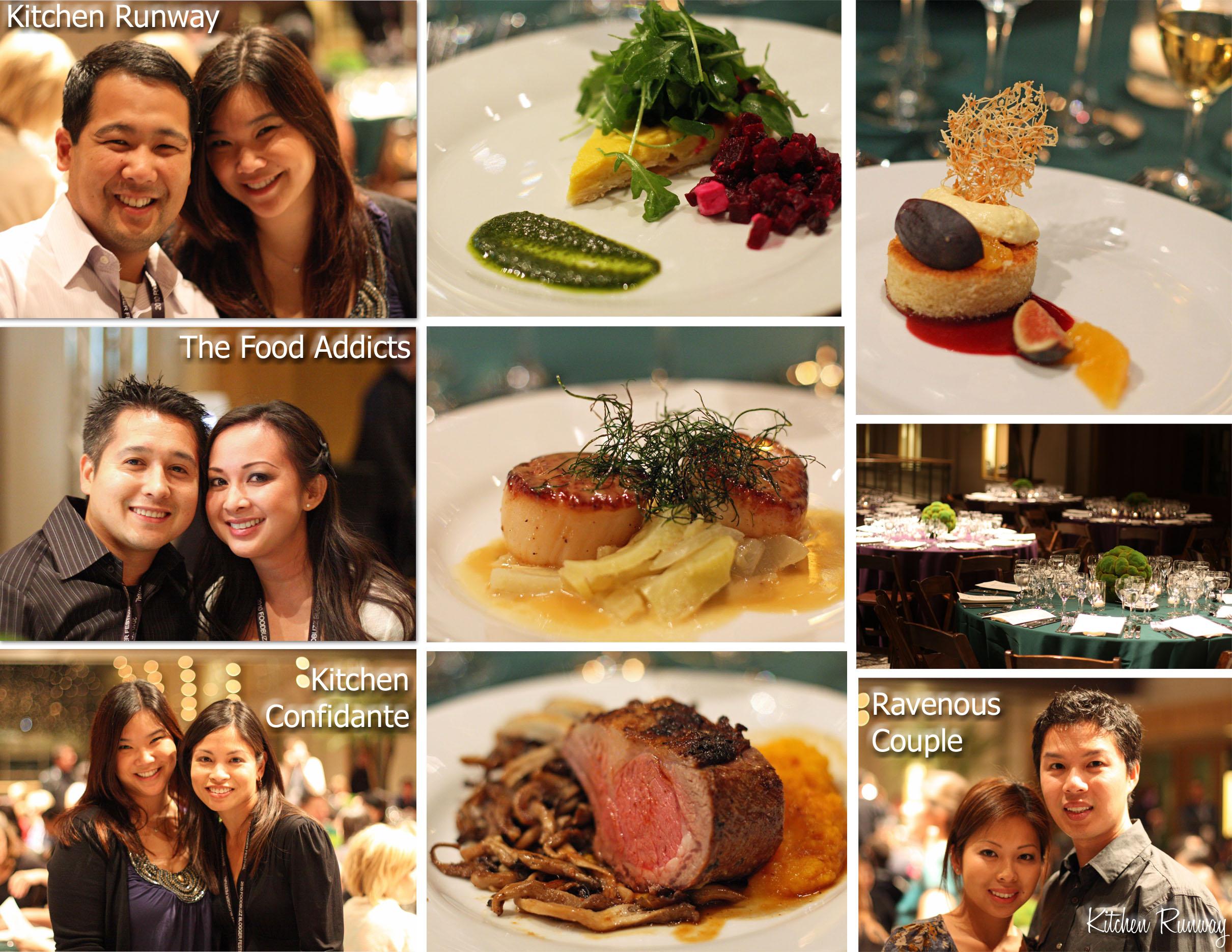 gala dinner collage