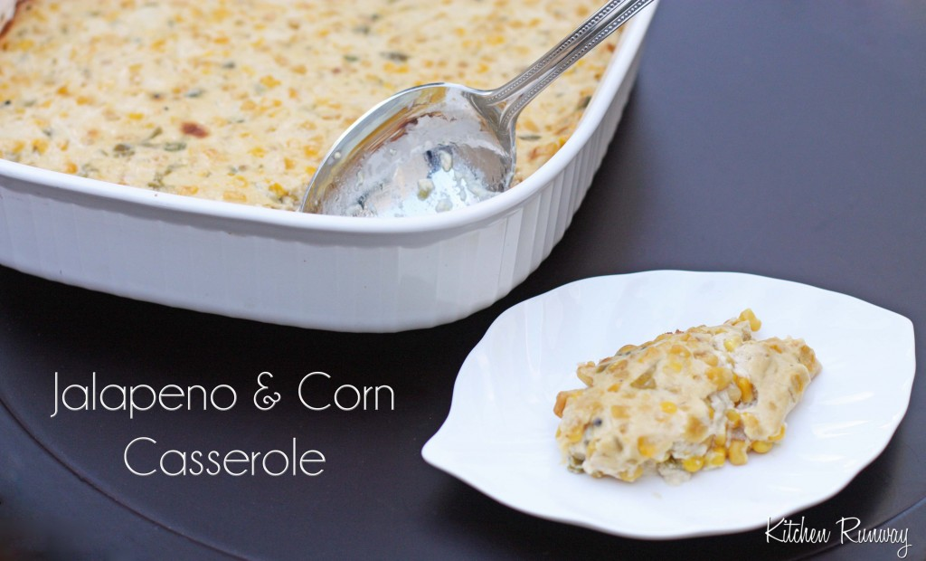 jalapeno and corn casserole