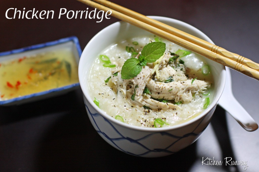 asian chicken porridge