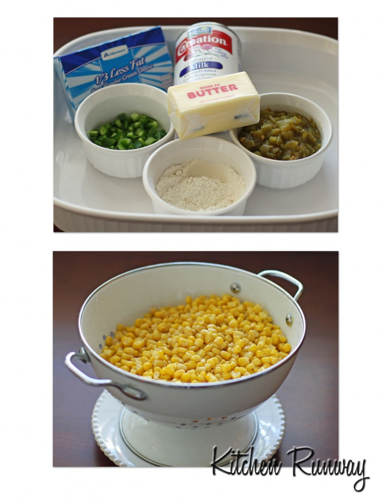 jalapeno & corn casserole ingredients