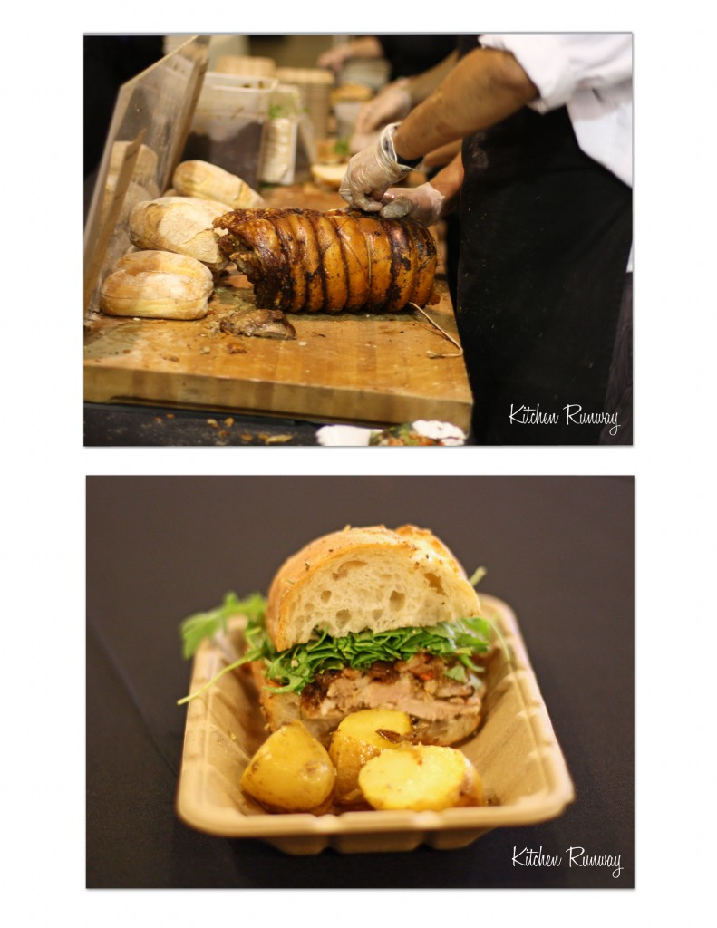 porchetta collage