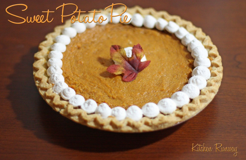 Sweet Potato Pie | Kitchen Runway