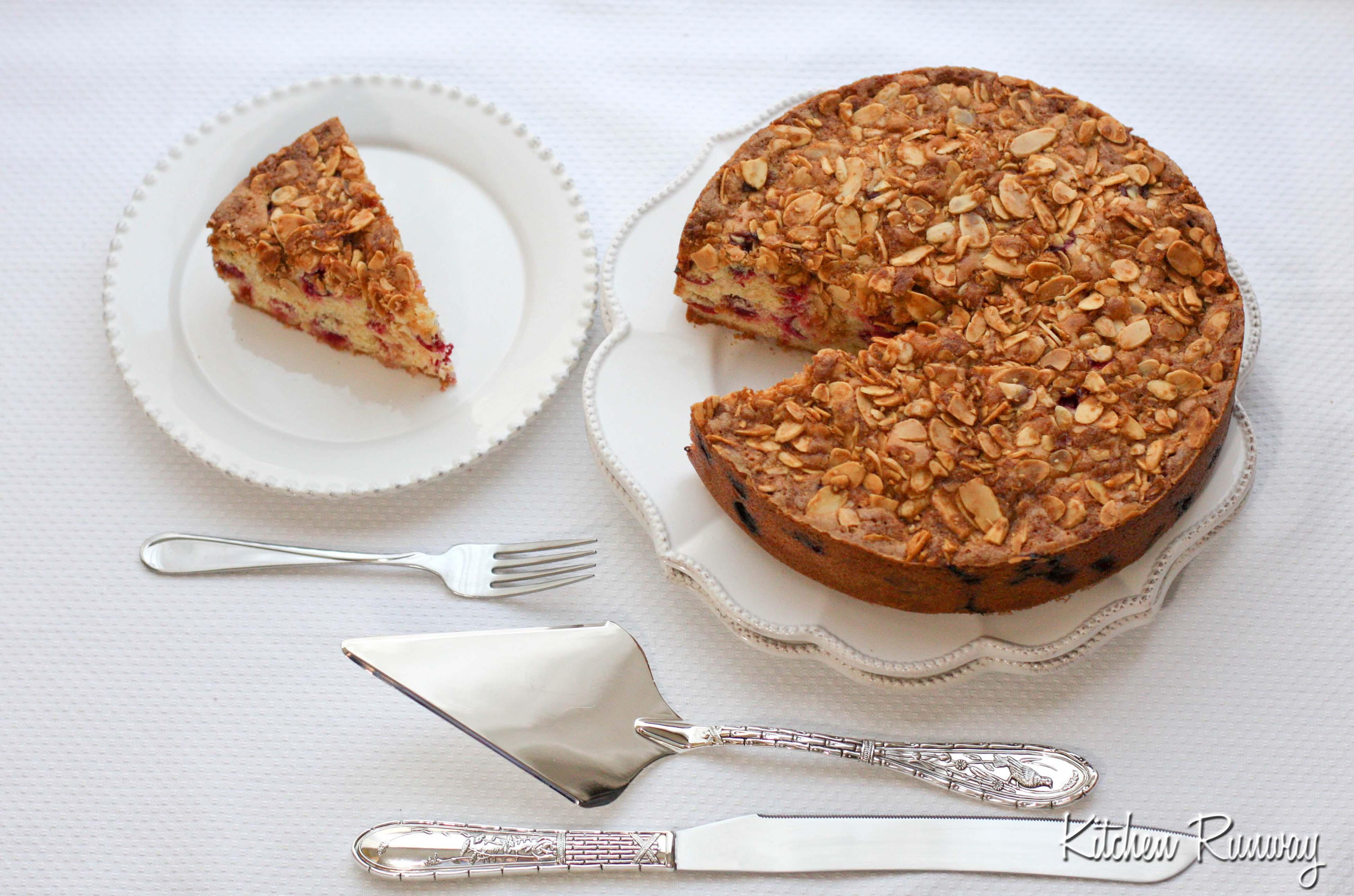 cranberry & orange cake