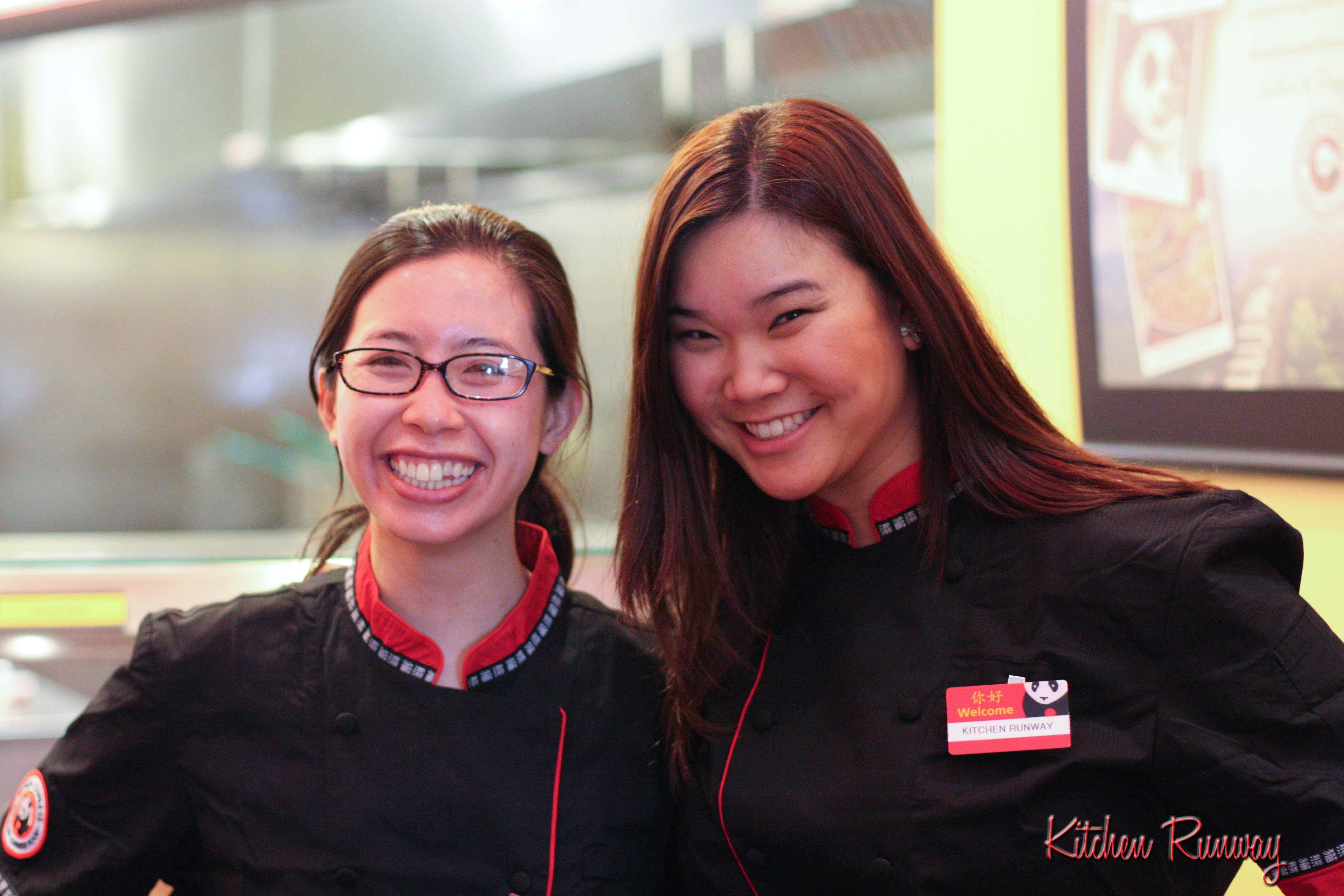 cathy and quyen - panda express wok star challenge
