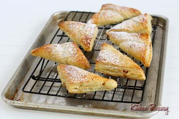 apple mango cheesecake turnovers