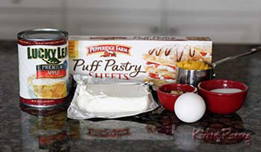 apple mange cheesecake turnover ingredients