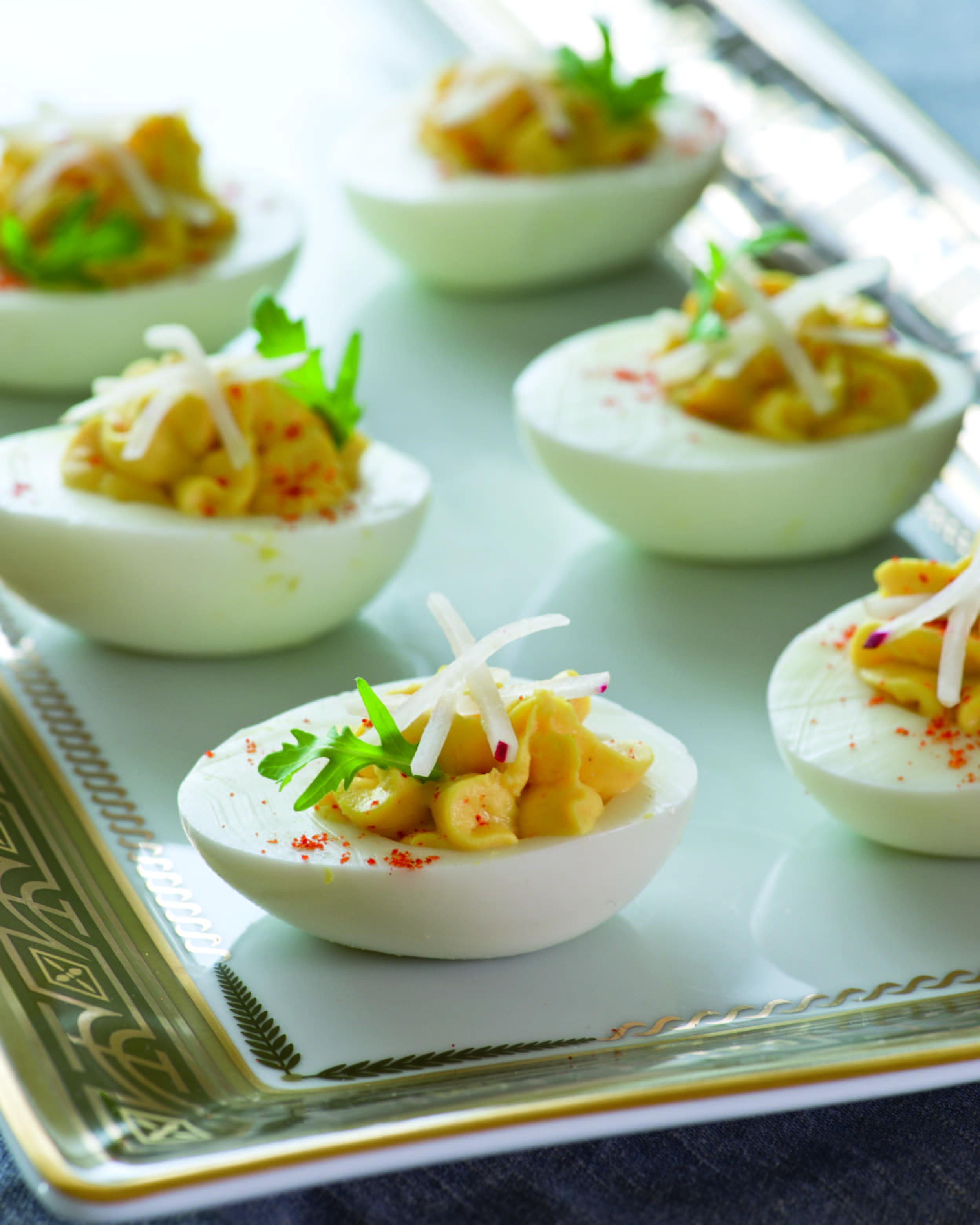 cristina ferrare's deviled eggs