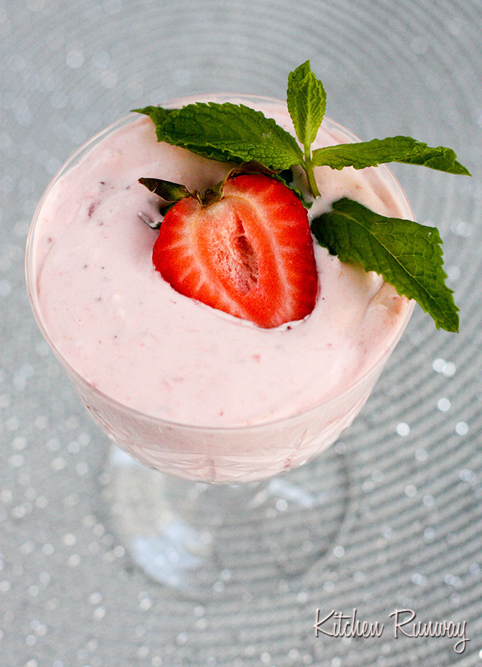 strawberry lemon fool