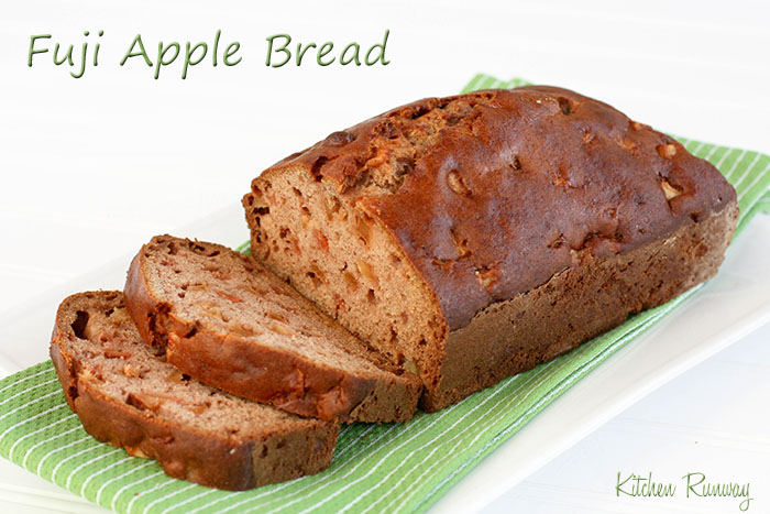 fuji apple bread