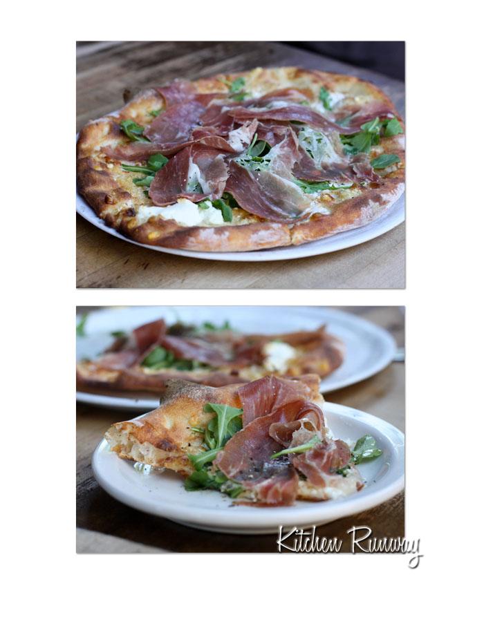 biancoverde with prosciutto - pizzeria bianco