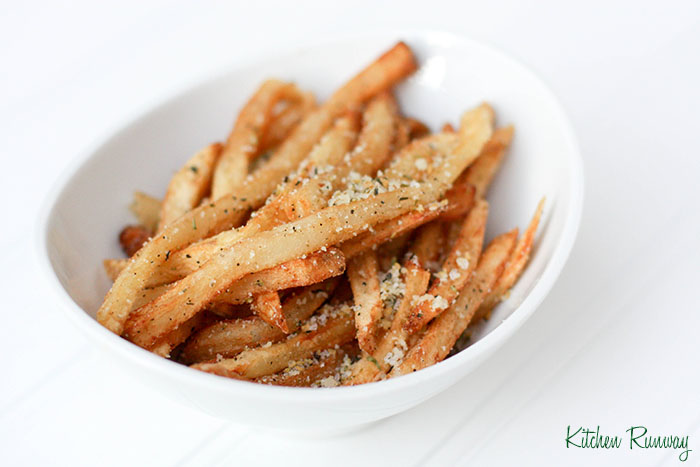 herb de provence &amp; parmesan french fries