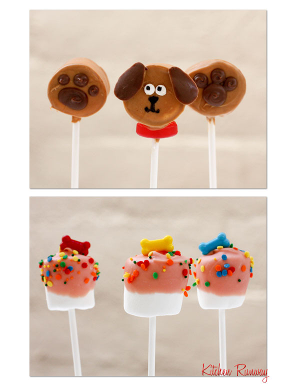 puppy marshmallow pops