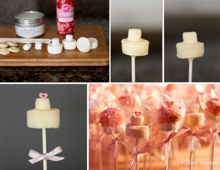wedding marshmallow pops