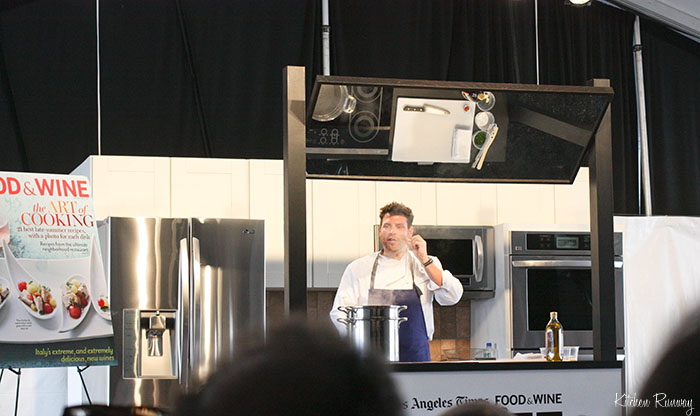 scott conant - the taste la cooking demo