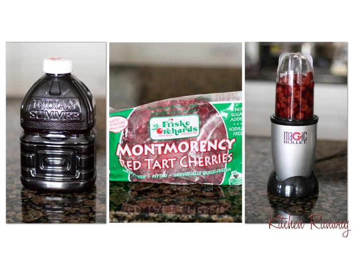 tart cherry collage