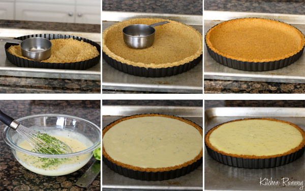 key lime pie step by step photos