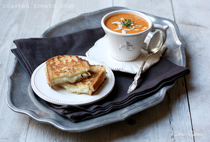 Roasted Tomato Soup inspired by Panera Bread | Kitchen Runway