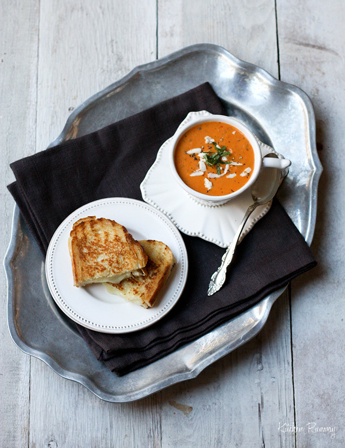 roasted tomato soup panera