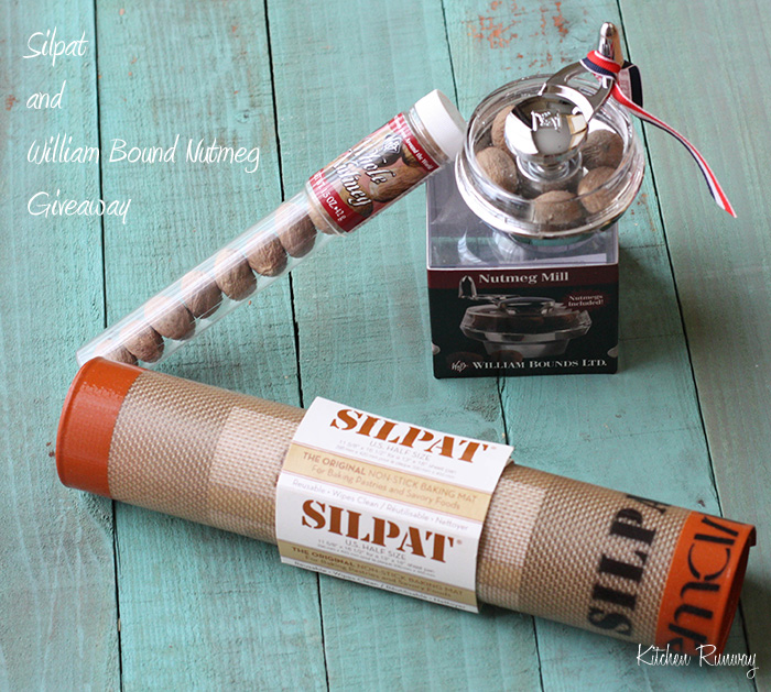silpat and william bound nutmeg mill giveaway