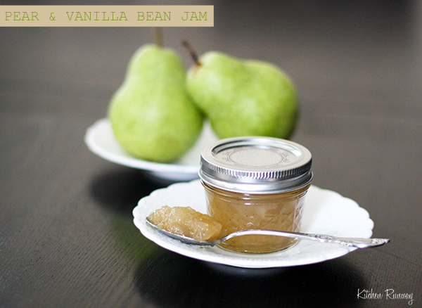 Pear and Vanilla Bean Jam | Kitchen Runway