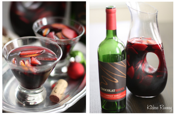 chocolate wine sangria #cheerstochocolate #shop