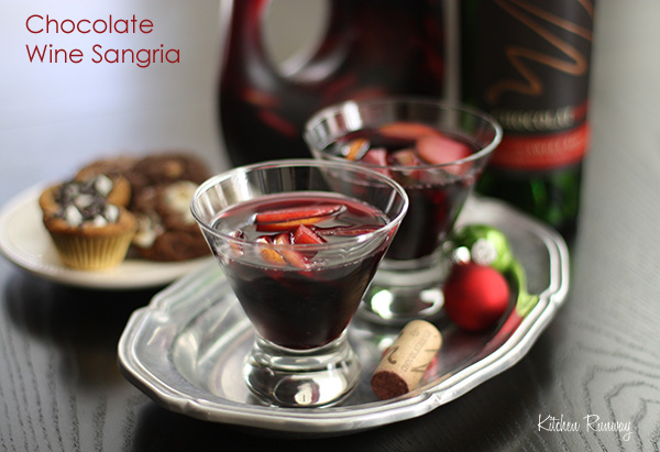 chocolate wine sangria #shop #cheers2chocolate