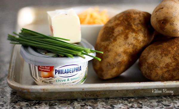 twice baked potato ingredients