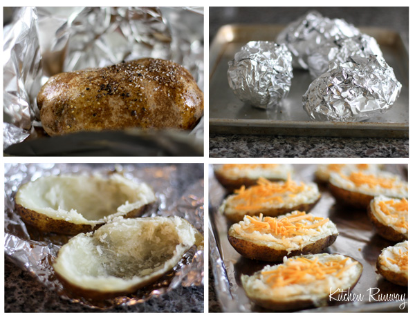 twice baked potato step by step