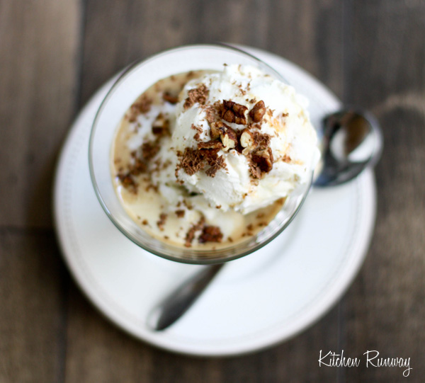 Caramel Butter Pecan Affogato | Kitchen Runway